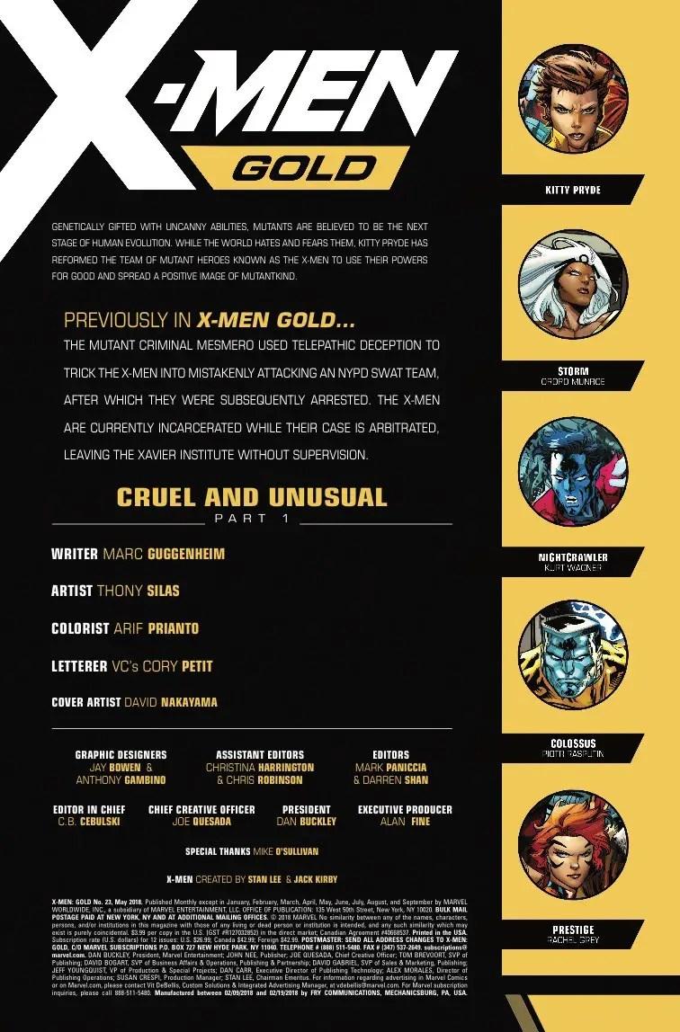 X-Men Gold #23 Review