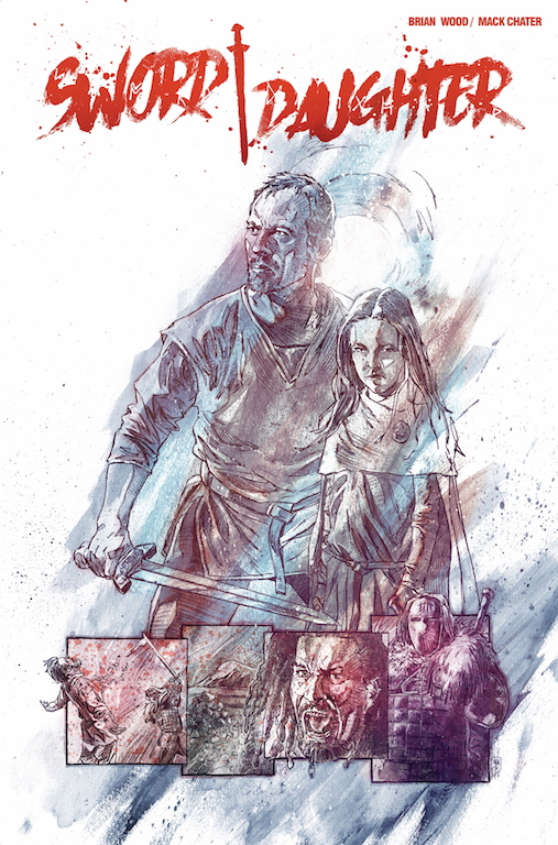 Brian Wood and Mack Chater discuss poignant redemption series 'Sword Daughter'