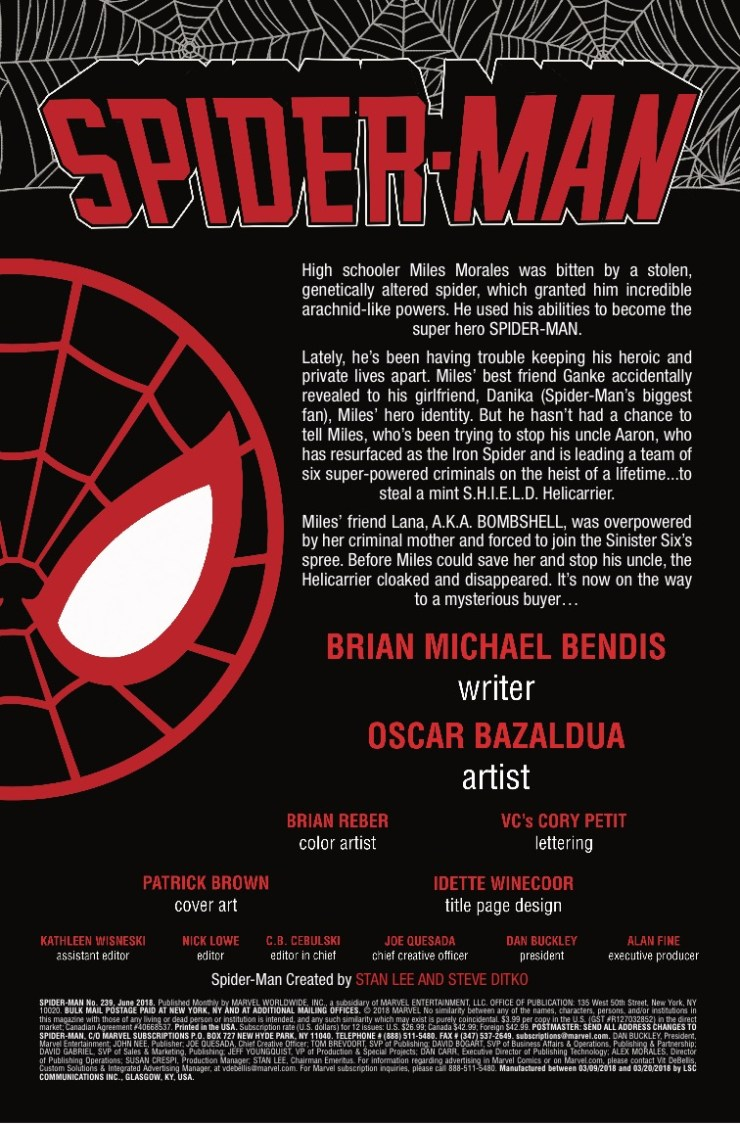 Marvel Preview: Spider-Man #239