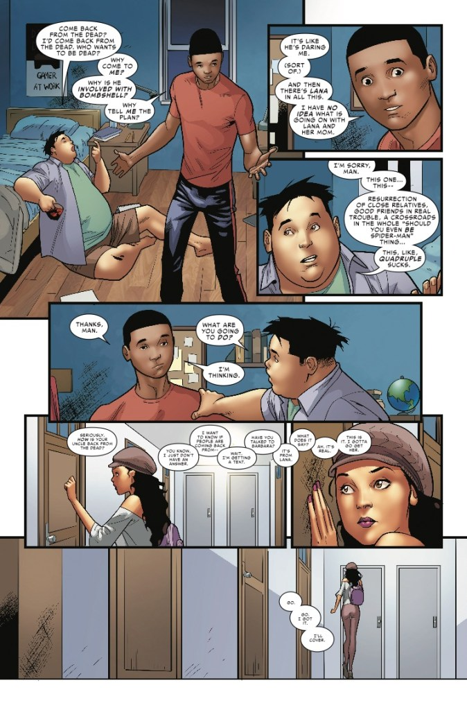 'Spider-Man: Miles Morales Vol. 4' review: A fitting end for Bendis continues to be inventive