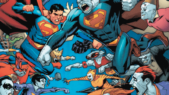 The Bizarro story gets even weirder in this penultimate issue in the story arc.