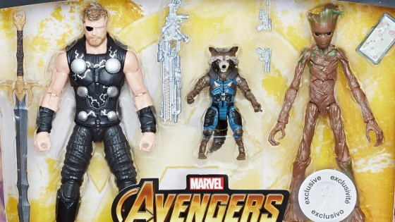 Hasbro has revealed three Marvel Legends multipacks for the Avengers: Infinity War. You may have heard about them, like I have. But now we finally get to see what they look like