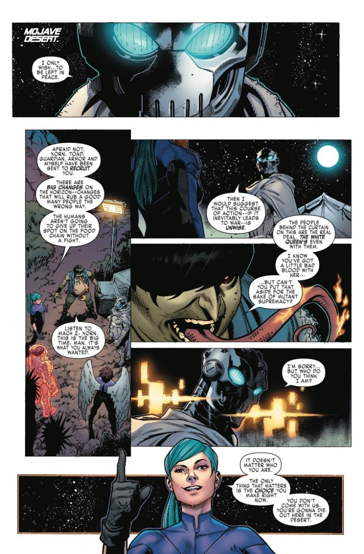 Marvel Preview: X-Men Blue #24