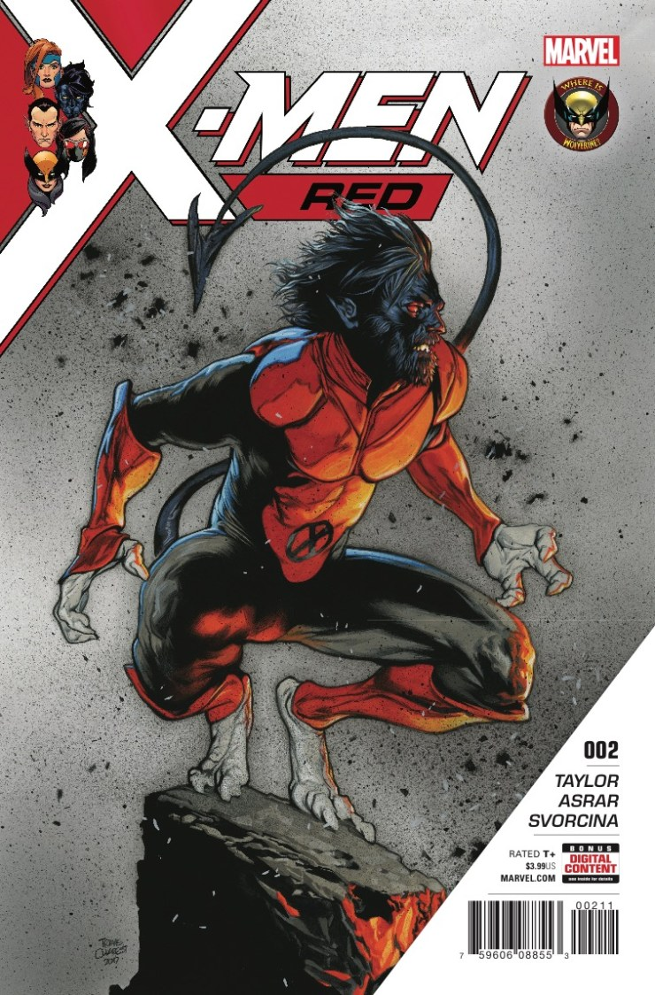 Marvel Preview: X-Men Red #2