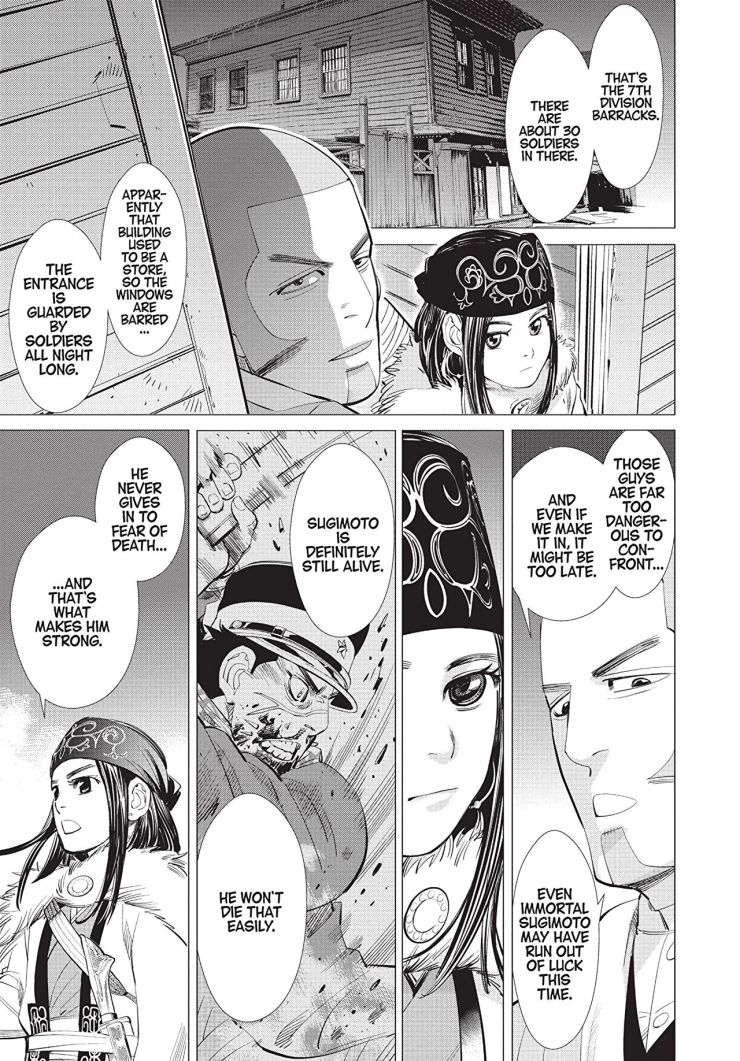 Golden Kamuy, Vol. 3 Review