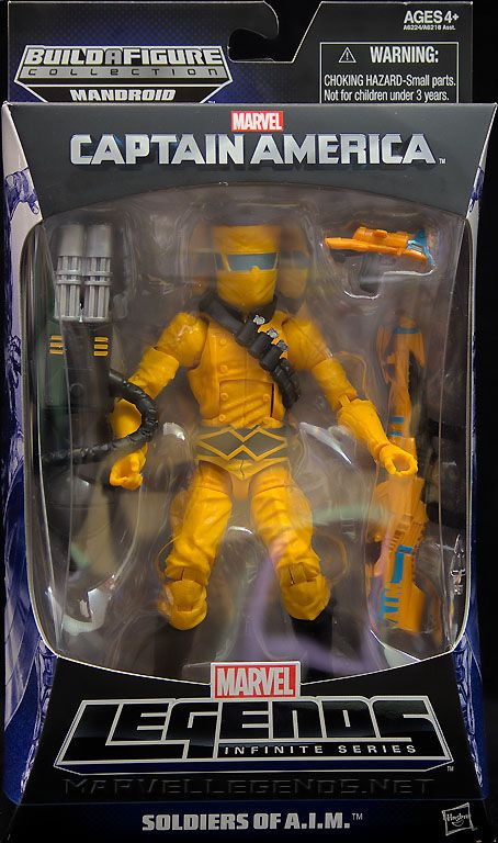 Video Review: Marvel Legends Soldiers of A.I.M. action figure