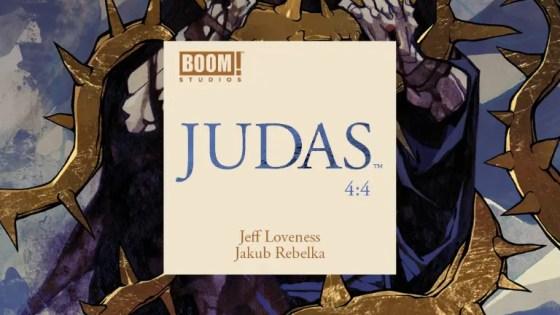 Judas #4 Review