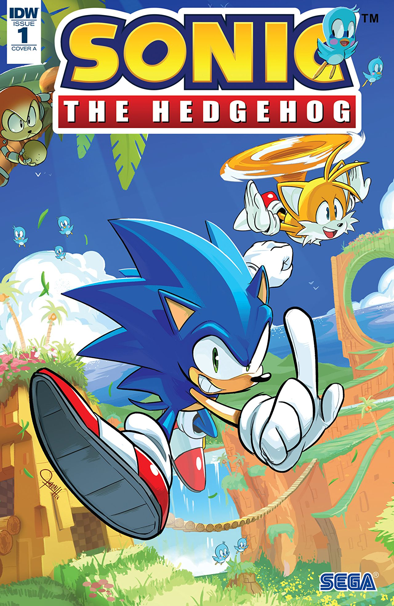 Sonic the Hedgehog #1 Review: IDW's new series is a worthy successor