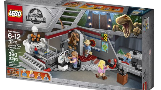 Get in the dinosaur movie mood with these new LEGO sets.
