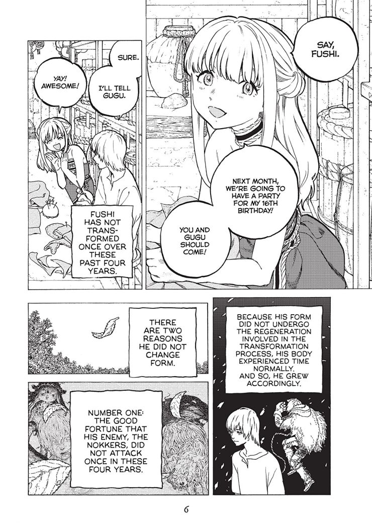To Your Eternity Vol. 4 Review