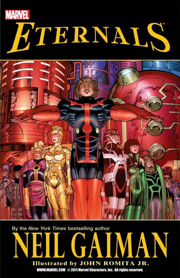 Eternals by Neil Gaiman Review