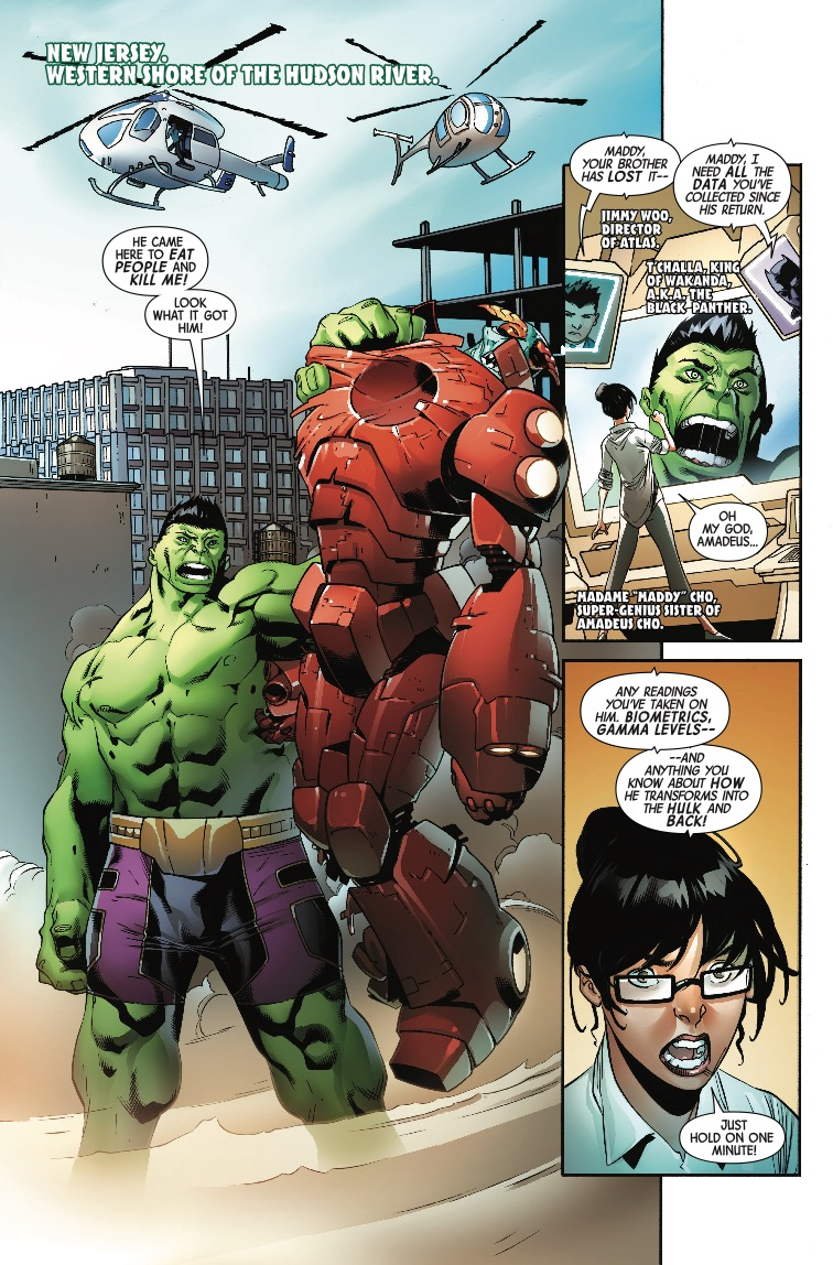 The Incredible Hulk #715 Review