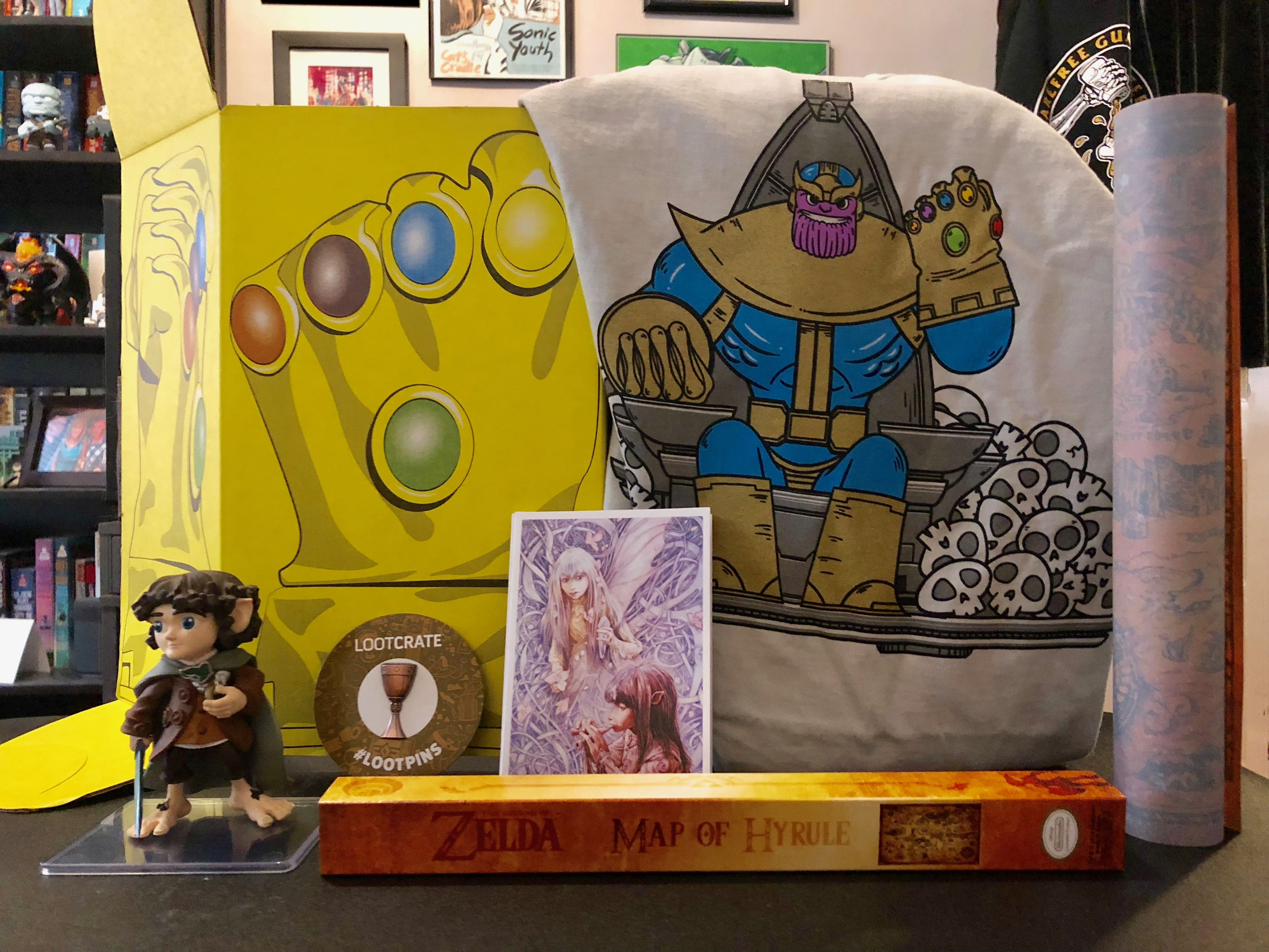 Unboxing/Review: Loot Crate April 2018