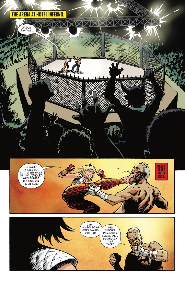 Marvel Preview: Iron Fist #80