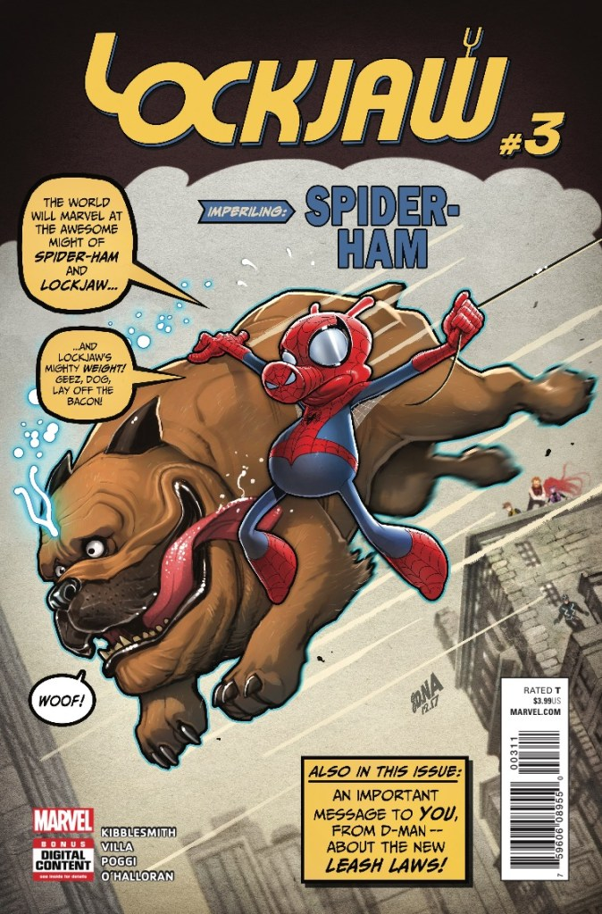 Marvel Preview: Lockjaw #3