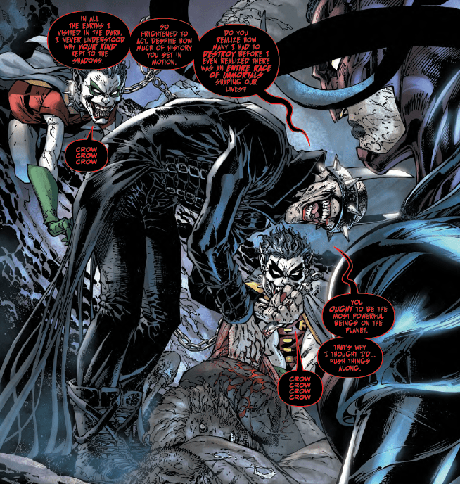 A 'Dark Nights: Metal' Batman villain gives some advice in 'The Immortal Men' #1