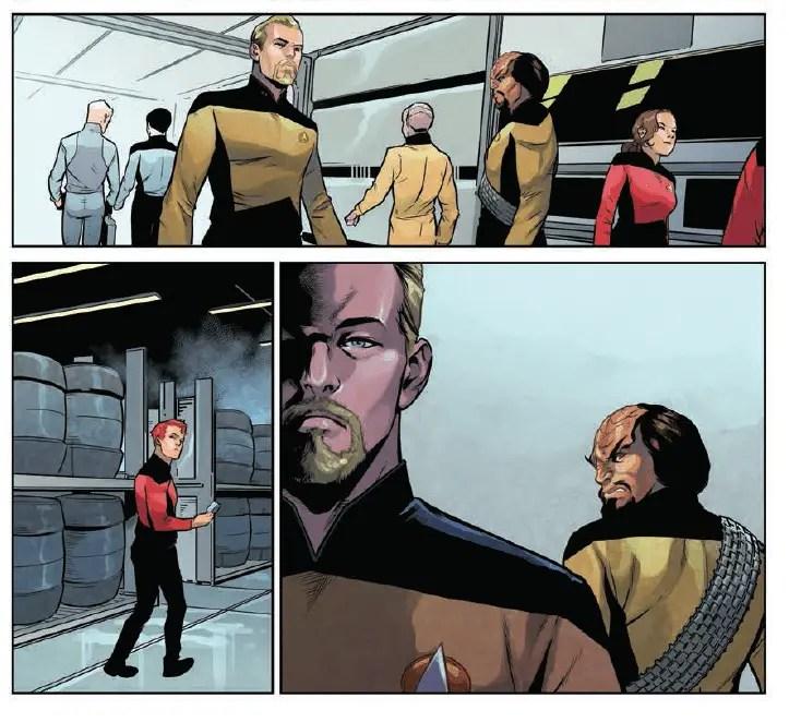 Star Trek: The Next Generation: Through The Mirror #1 Review