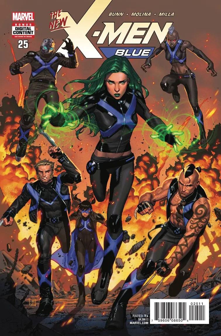 X-Men Blue #25 review