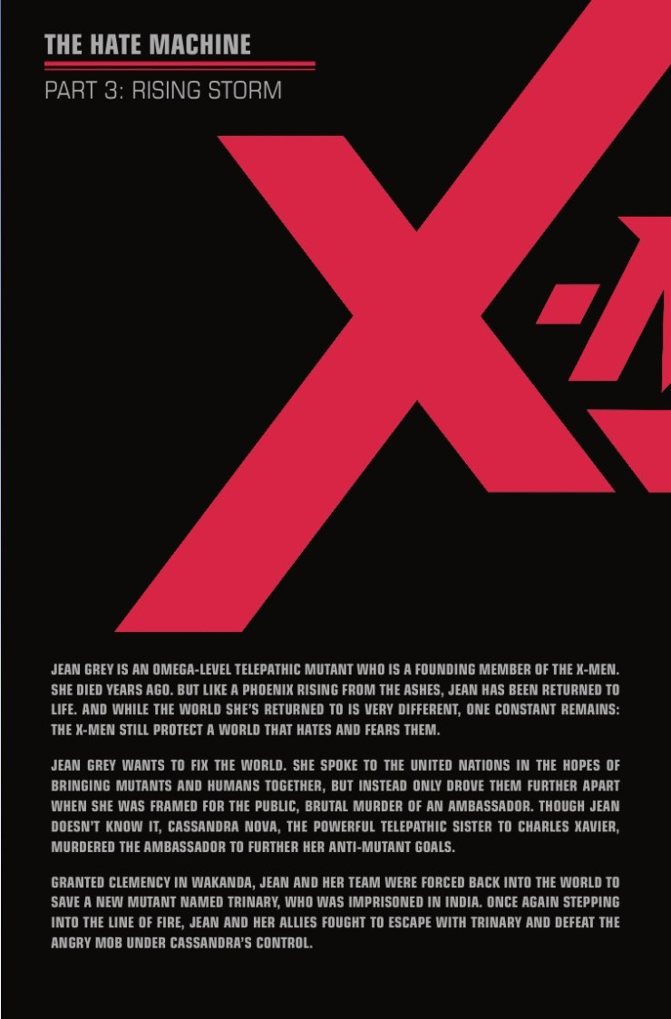 Marvel Preview: X-Men Red #3