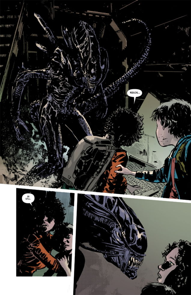 Aliens: Dust to Dust #1 Review