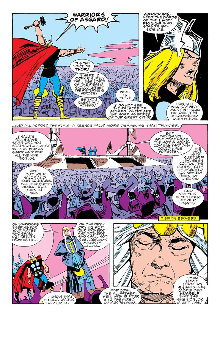 The Mighty Thor by Walter Simonson Vol. 3 Review