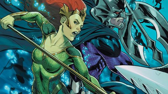 Mera: Queen of Atlantis continues to tread water at a sea snail's pace.