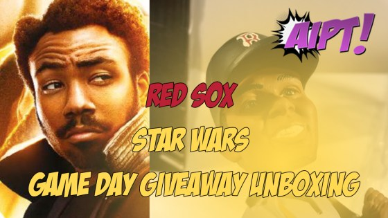 Red Sox Game Day Events giveaway unboxing: Star Wars bobblehead