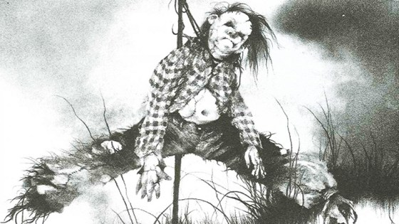 Guillermo del Toro is producing/co-writing a Scary Stories to Tell in the Dark movie