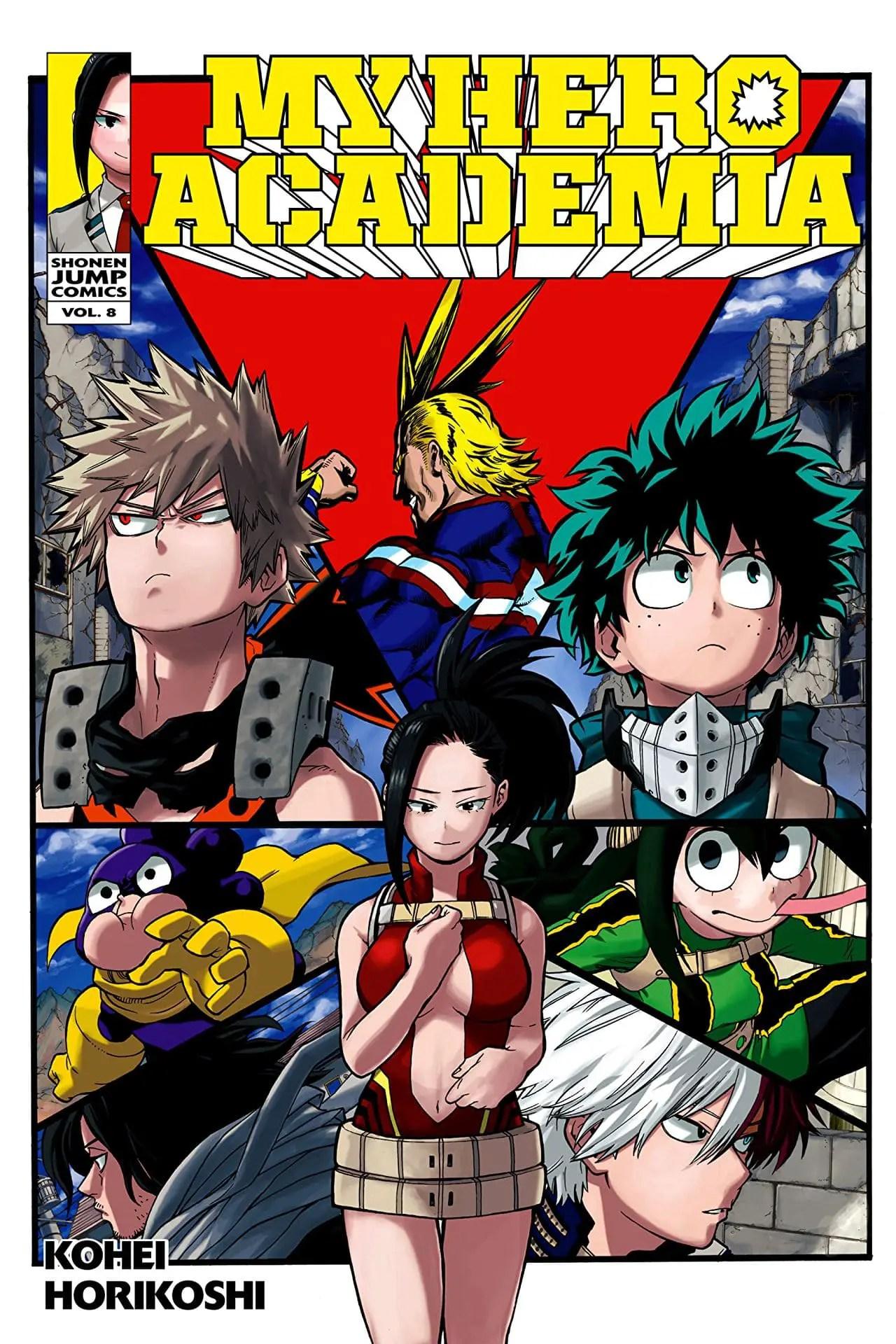 My Hero Academia Vol. 8 Review