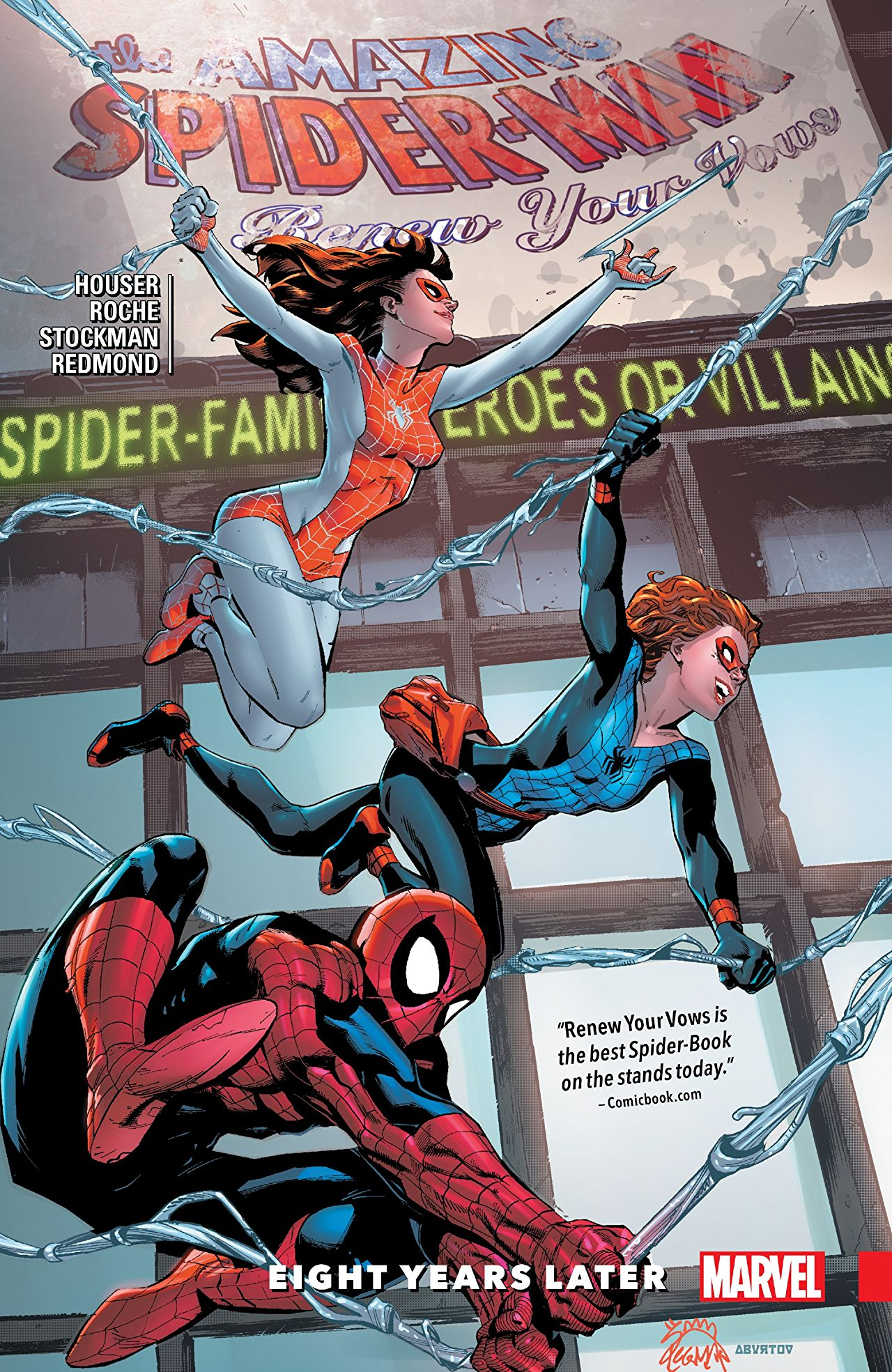 'Amazing Spider-Man: Renew Your Vows Vol. 3: Eight Years Later' review: An all-ages collection with a lot of heart
