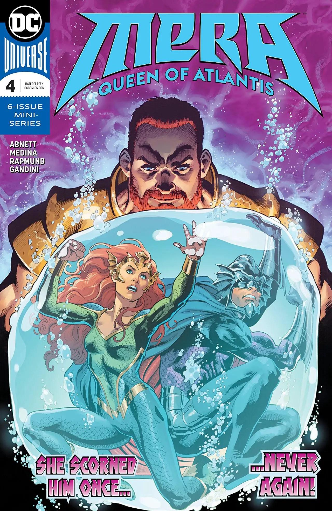 Mera: Queen of Atlantis #4 Review