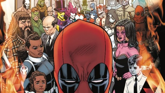 Gerry Duggan and Mike Hawthorne bid farewell to Deadpool with one of their most hilarious issues, one that sets up the incoming relaunch perfectly despite an underwhelming conclusion.