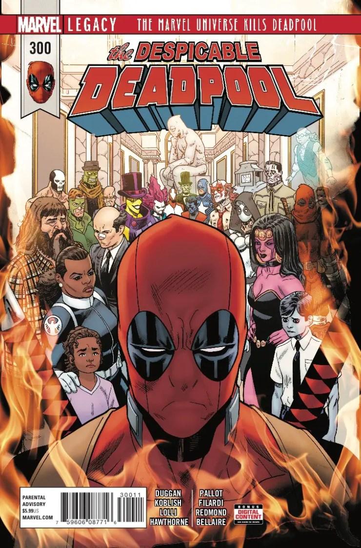 Marvel Preview: Despicable Deadpool #300