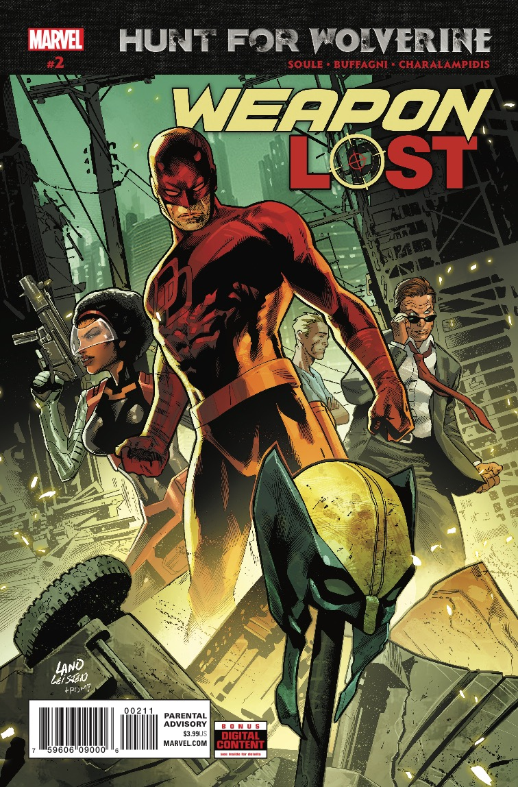 Hunt for Wolverine: Weapon Lost TPB Review