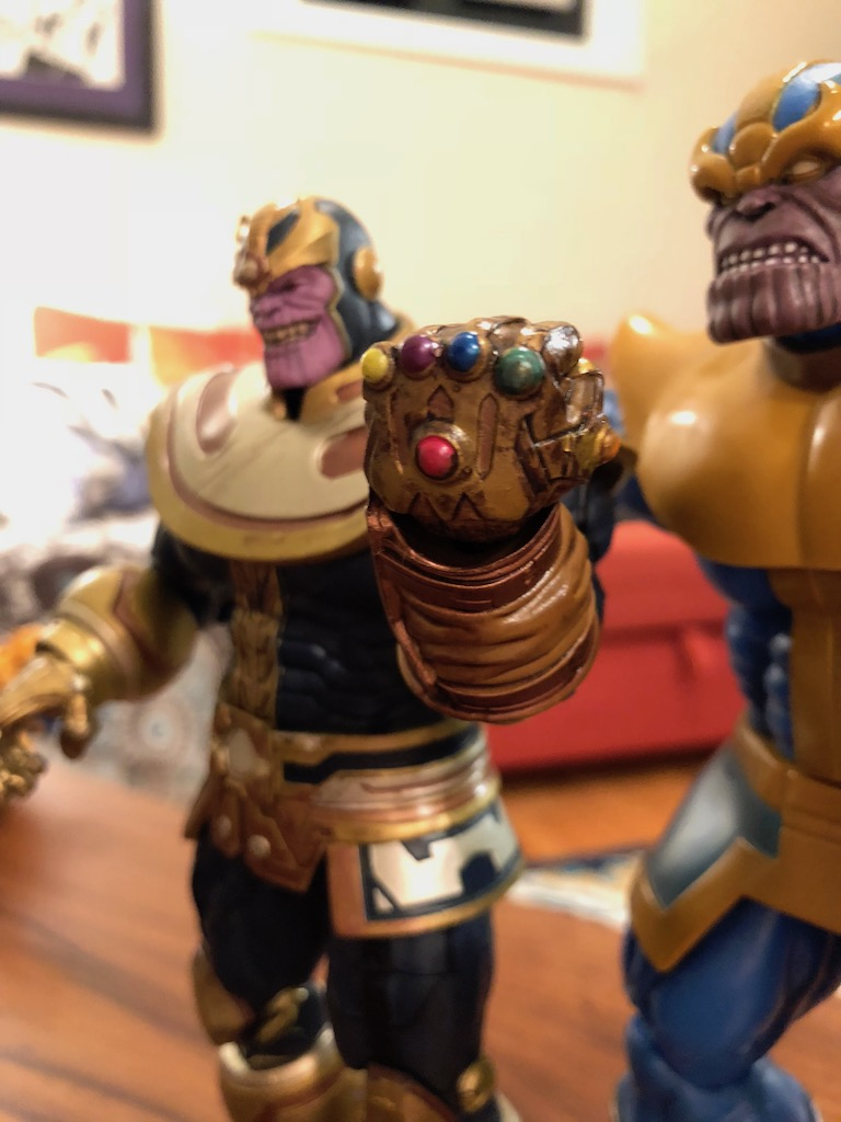 """Unboxing/Review: Marvel Select Thanos 7"""" action figure"""