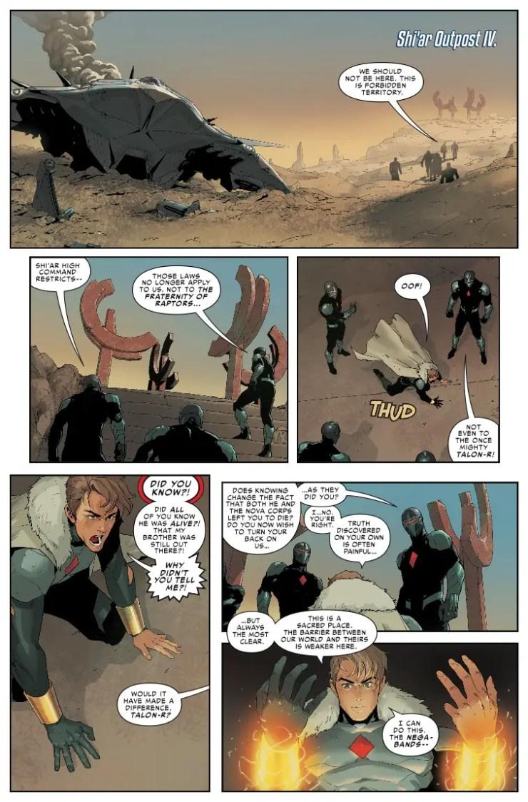 Marvel Preview: Infinity Countdown: Darkhawk #1