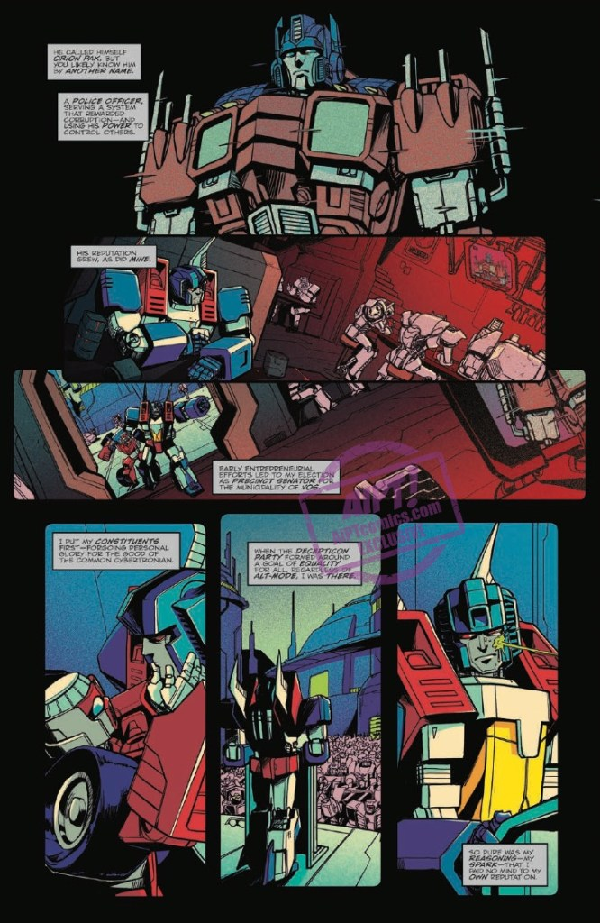 [EXCLUSIVE] IDW Preview: Optimus Prime #19
