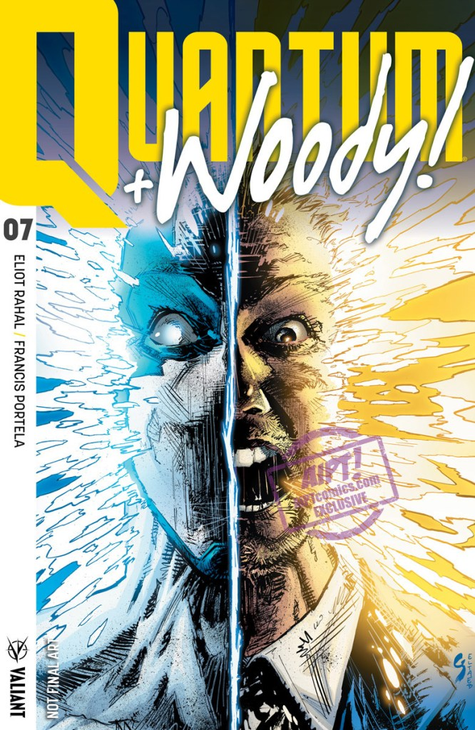 [EXCLUSIVE] Valiant Preview: Quantum and Woody! #7