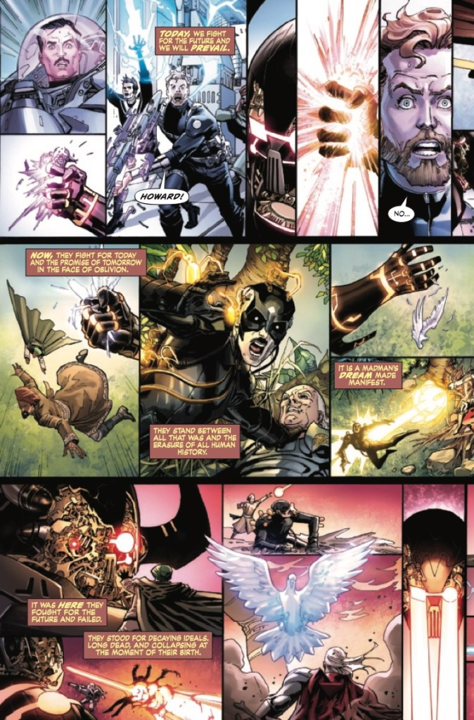 Marvel Preview: S.H.I.E.L.D. by Hickman & Weaver #5