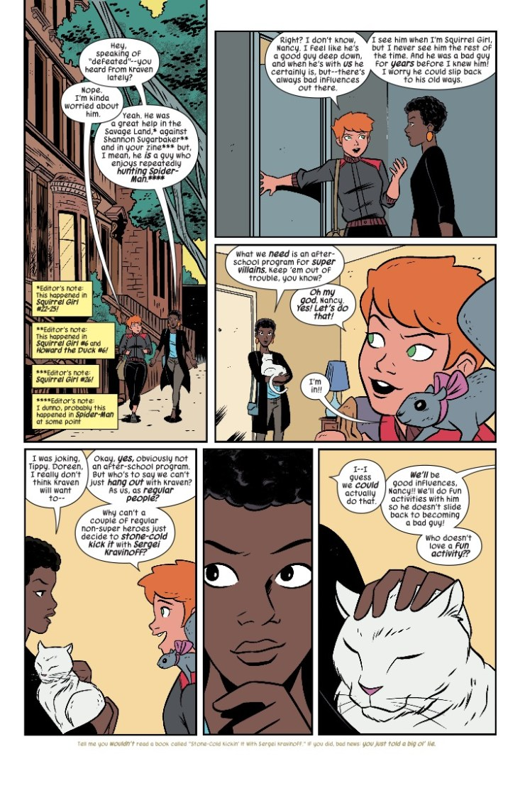 Marvel Preview: The Unbeatable Squirrel Girl #32