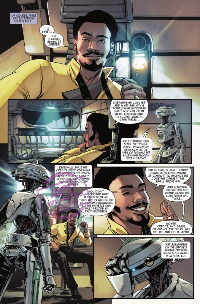 [EXCLUSIVE] Marvel Preview: Star Wars: Lando - Double Or Nothing #1