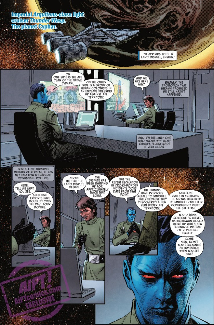 [EXCLUSIVE] Marvel Preview: Star Wars: Thrawn #4