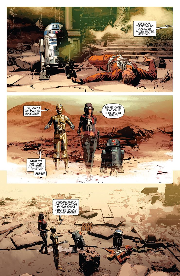 Forget Boba Fett. It's time for Doctor Aphra: A Star Wars Story