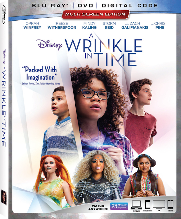 AiPT! Giveaway: Win 'A Wrinkle in Time' Blu-ray Combo Pack