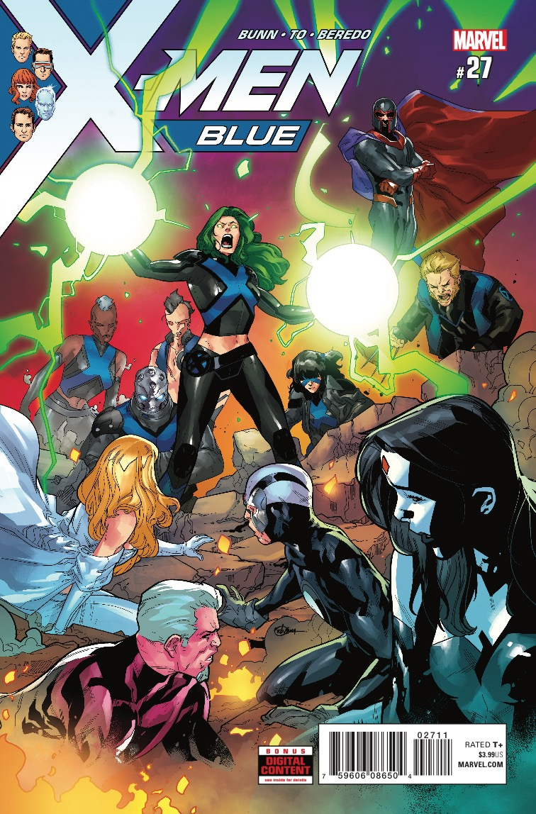 X-Men Blue #27 review