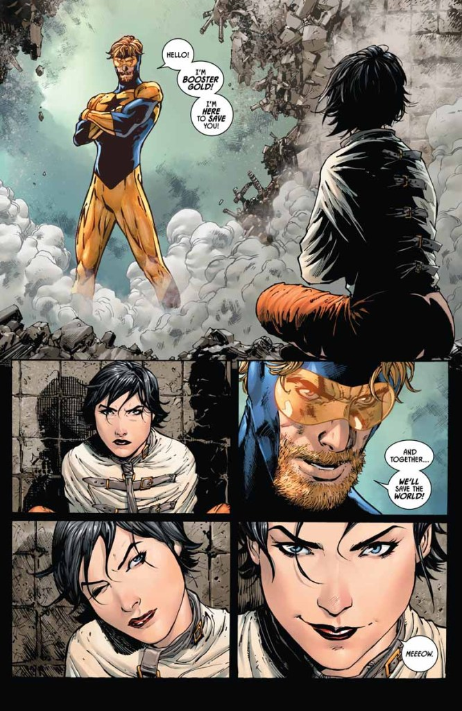 Batman #46 review: more misadventures in time travel with Booster Gold (and Catwoman too)