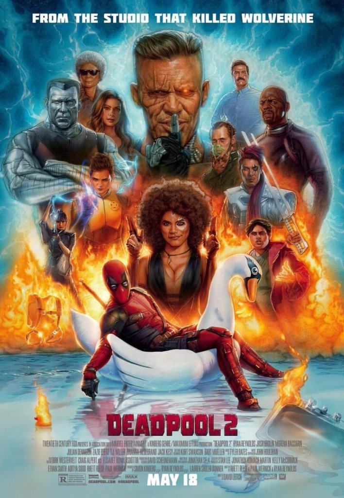 New Deadpool 2 poster features everything and the kitchen sink