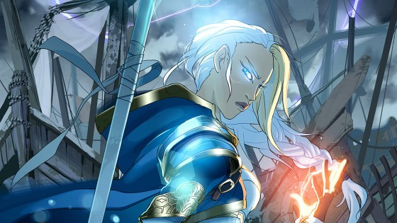 Jaina finds herself doing some soul searching in the ruins of Theramore.