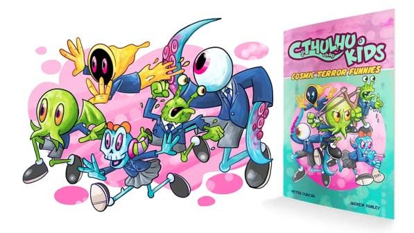 [MW2018] Kickstarter Alert: Illustrator Andrew Pawley talks 'Cthulhu Kids,' monsters, Mythos and more!