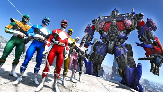 Two juggernaut toy franchises are about to be under the same roof: Transformers and Power Rangers.